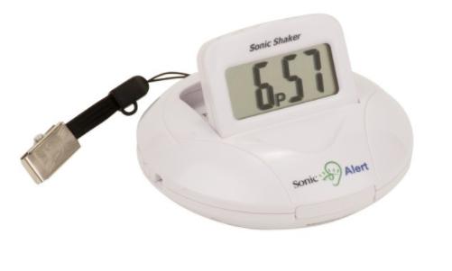 Sonic Alert SBP100 Portable Vibrating Alarm Clock