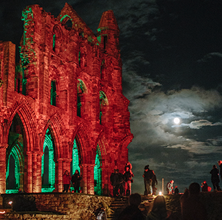 Whitby Abbey, Spooky Abbey - Sat 26th Oct - Sun 3rd Nov